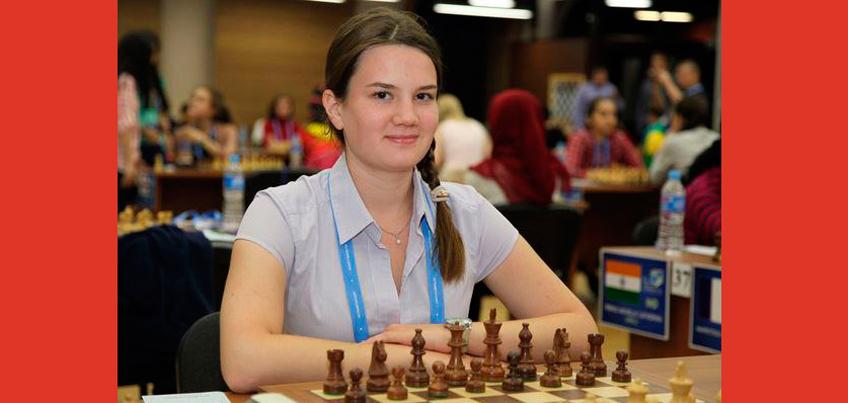 Шахматистка из Удмуртии Александра Макаренко стала второй на международном турнире в Перми