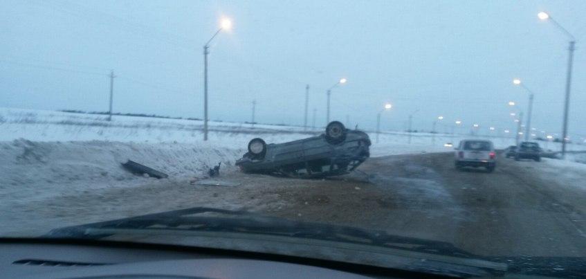 В Удмуртии столкнулись  5 автомобилей