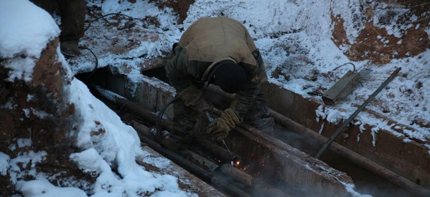 В Ижевске 33 бригады вышли на устранение порывов на коммунальных сетях