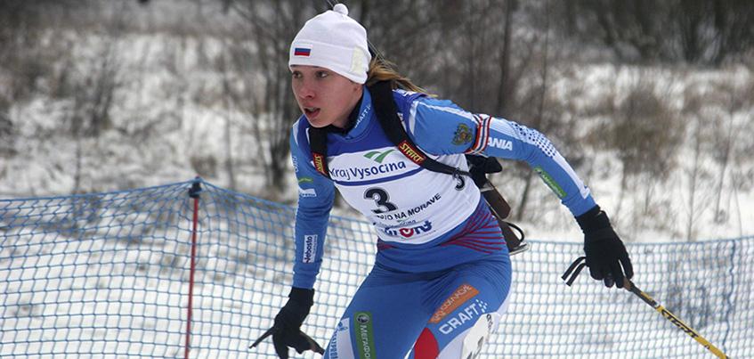 Удмуртская биатлонистка Ульяна Кайшева на итальянском этапе Кубка Европы финишировала в гонке преследования четвертой