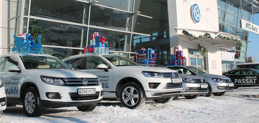 На дорогах Ижевска появился «Зимний патруль Volkswagen»