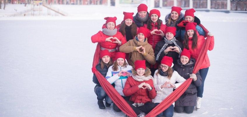 В Ижевске вновь пройдет дискотека на коньках в честь Дня всех влюбленных