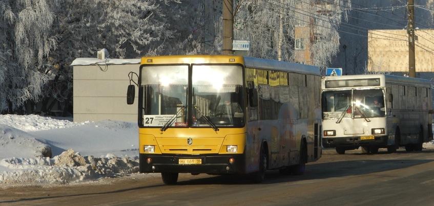 В Ижевске пассажиров автобуса эвакуировали из-за запаха гари