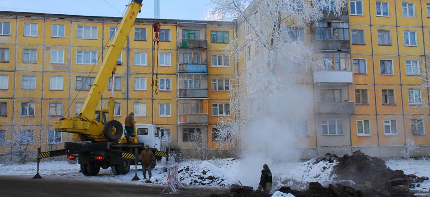 В Ижевске ремонтные бригады работают на 26 теплосетевых объектах