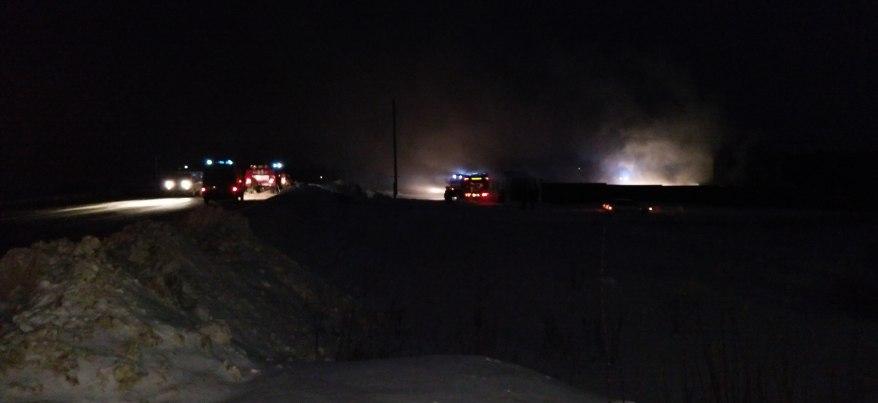 В Удмуртии два человека погибли при пожаре в бане