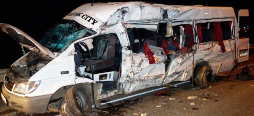 Водителя фуры, врезавшегося в автобус с паломниками из Удмуртии, лишили свободы