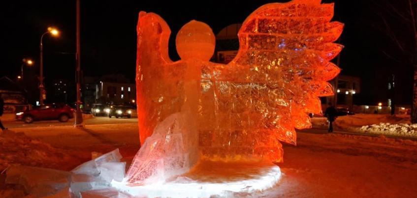 В Ижевске разрушили скульптуру Ангела у Свято-Михайловского собора