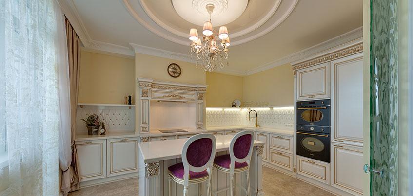 Самые красивые квартиры Ижевска: дворцовый интерьер «трешки» на Пушкинской