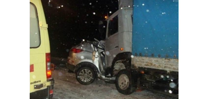 В аварии на трассе Ижевск-Можга погиб один человек
