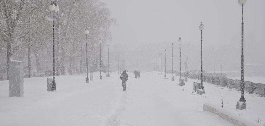 В первые февральские дни погода в Ижевске ожидается снежной и теплой