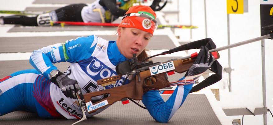 Биатлонистка Ульяна Кайшева выиграла серебро на этапе Кубка России в Тюмени
