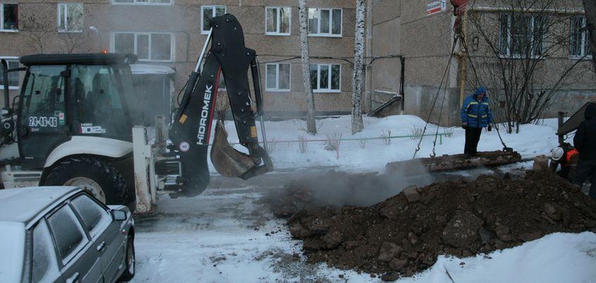 30 повреждений на теплосетях устранили 30 января в Ижевске