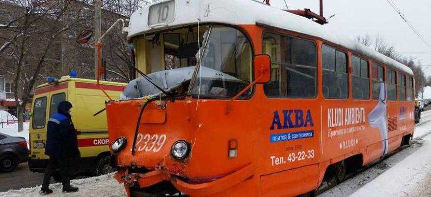 В Ижевске у трамвая, который попал в ДТП, не нашли неисправностей в системе торможения