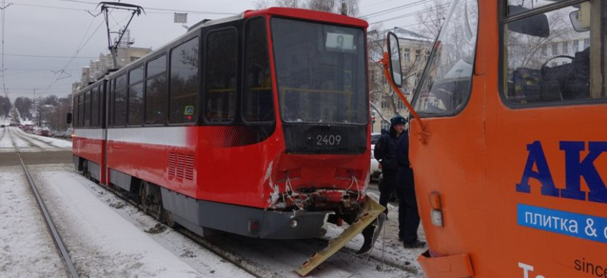 В Ижевске после ДТП с двумя трамваями в ИжГЭТ пройдут проверки