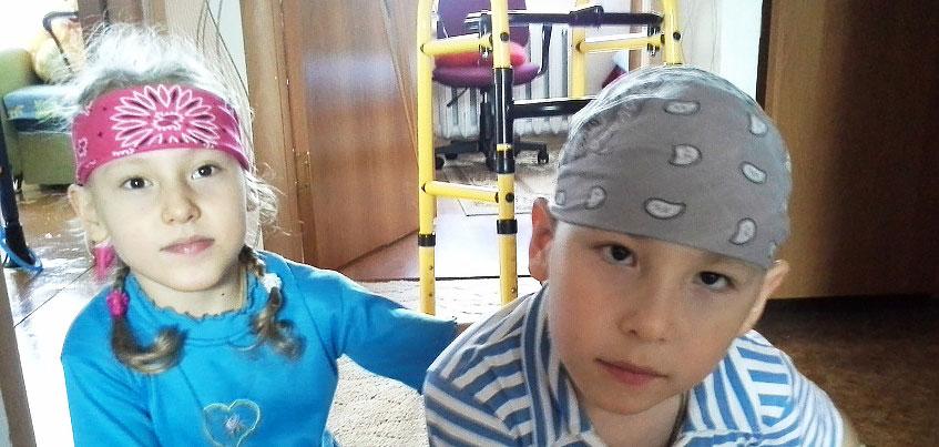 Нужна помощь: двойняшкам с ДЦП необходимы инвалидные коляски