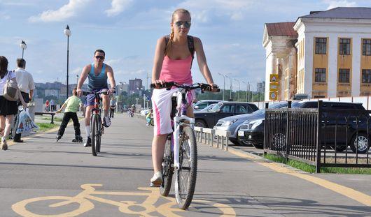 Ко Дню города в Ижевске появятся три новых велодорожки