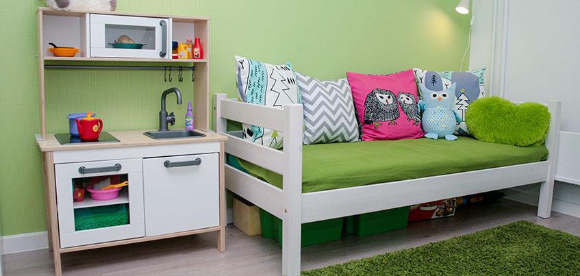 Самые красивые квартиры Ижевска: детская с элементами скандинавского стиля