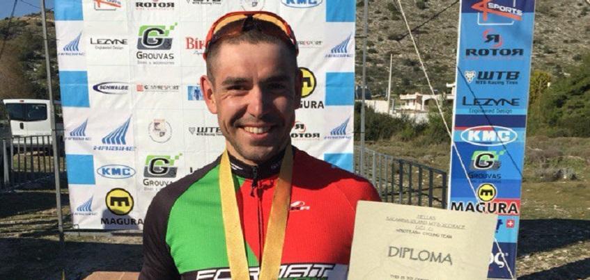 Ижевский маунтинбайкер Тимофей Иванов стал победителем международной гонки в Греции