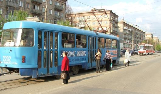 Из-за аварии в Ижевске встали трамваи