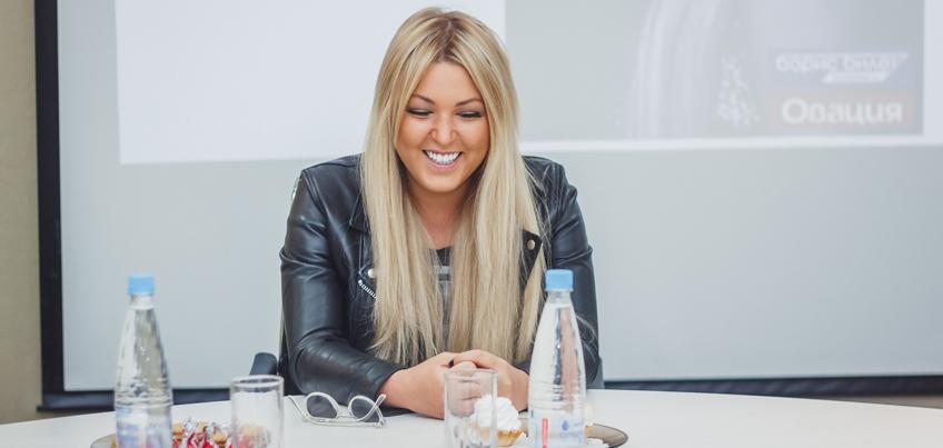 Ирина Дубцова в Ижевске рассказала о розовом лимузине и дружбе с Киркоровым