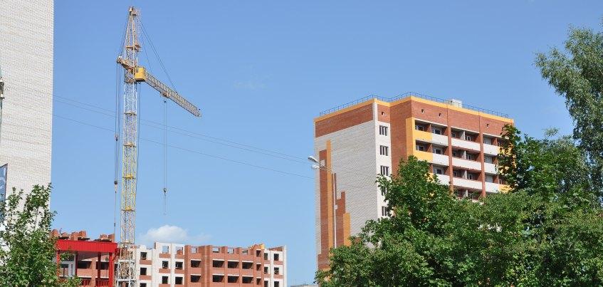 В Удмуртии вдвое уменьшился объем сданного жилья