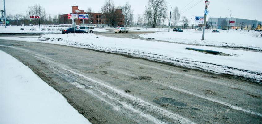 Почему не чистят тротуары на улице Потемкина?