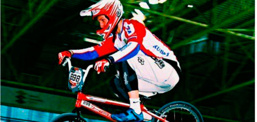 Сарапульчанин Борис Пономарев стал третьим на международной гонке по БМХ