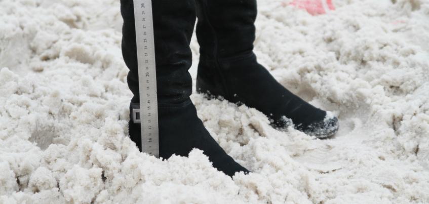 Этой зимой городские службы вывезли с улиц Ижевска 53 тысячи тонн снега