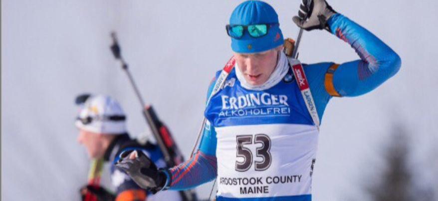 Ижевчанин Александр Поварницын попал в десятку сильнейших в гонке преследования на американском этапе Кубка Мира по биатлону