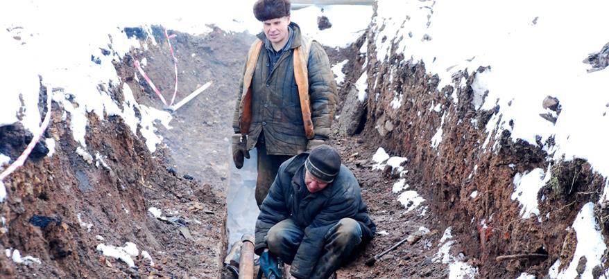 12 февраля коммунальщики устранили в Ижевске 20 порывов