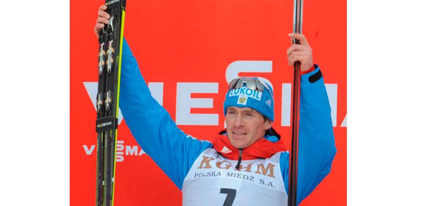Максим Вылегжанин выиграл этап Кубка Мира по лыжным гонкам в Фалуне
