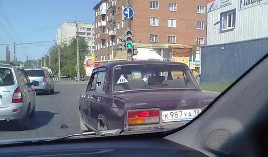 В Ижевске один водитель напал на другого с топором