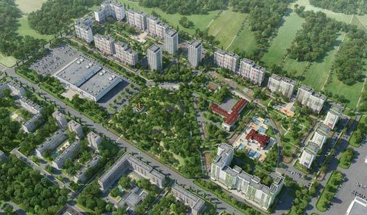В Ижевске вырастет город-парк «Тишино»