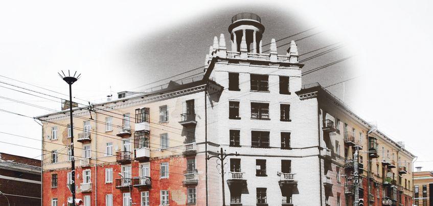 Загадки «сталинки» на Горького, 45: таинственная комната под башней и первая книга Евтушенко