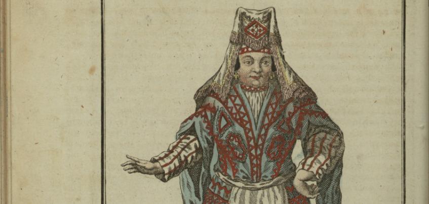 Нью-Йоркская библиотека опубликовала четыре гравюры с изображением удмуртов