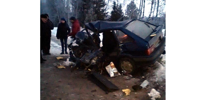 Авария на трассе Можга-Вавож в Удмуртии: один человек погиб, пятеро - ранены