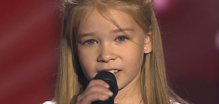 Ижевчанка Ксения Пономаренко прошла в следующий этап программы «Голос.Дети»