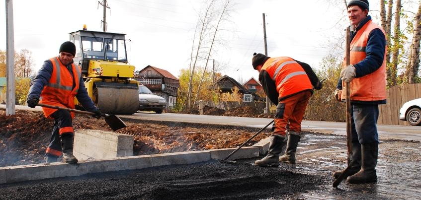 В Удмуртии начался ремонт дороги Воткинск-Кельчино-граница Пермского края