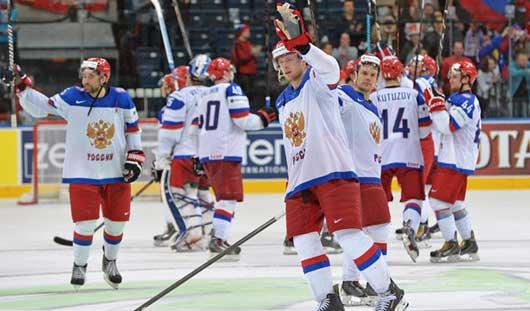 22 мая Россия поборется с Францией за выход в полуфинал ЧМ по хоккею