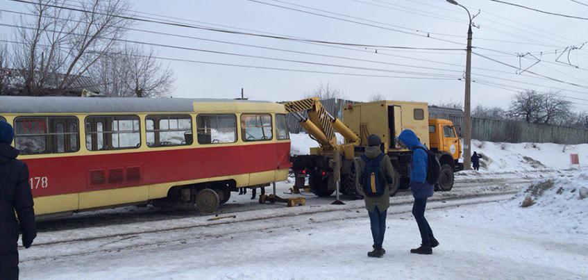 В Ижевске восстановили движение трамваев