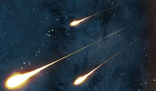 Жители Земли увидят метеоритный дождь