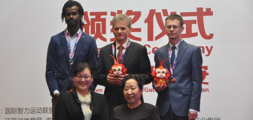 Ижевчанин Алексей Чижов выиграл на всемирных интеллектуальных играх в Китае свою третью медаль