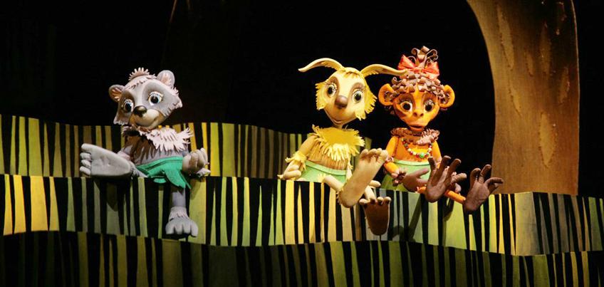 В театре кукол Удмуртии показали новый спектакль про Крошку Енота