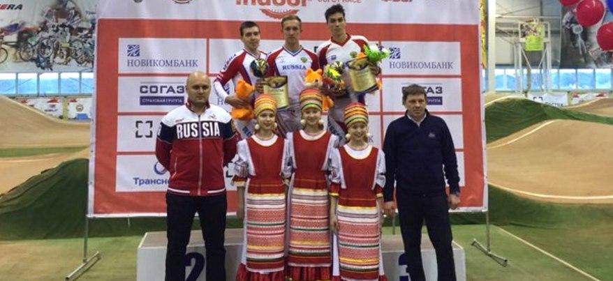 Сарапульчанин Борис Пономарев стал победителем международных соревнований по ВМХ