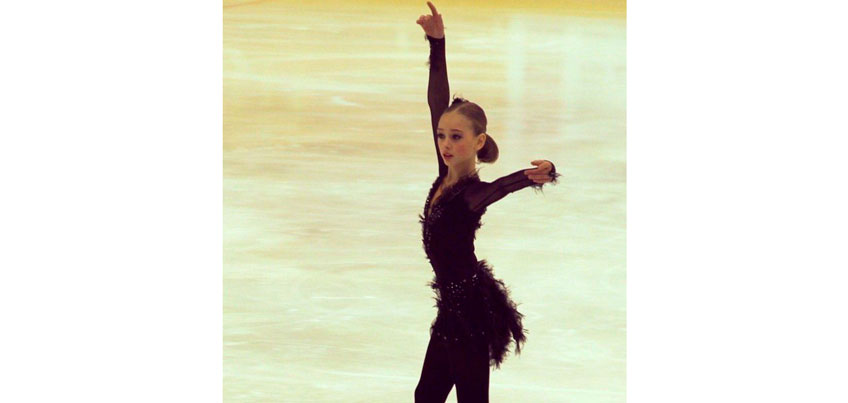 Фигуристка из Удмуртии Алиса Лозко стала победительницей международного турнира в Будапеште