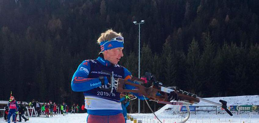 Биатлонист из Удмуртии Александр Поварницын стал 13-м в спринте на итальянском этапе Кубка Европы