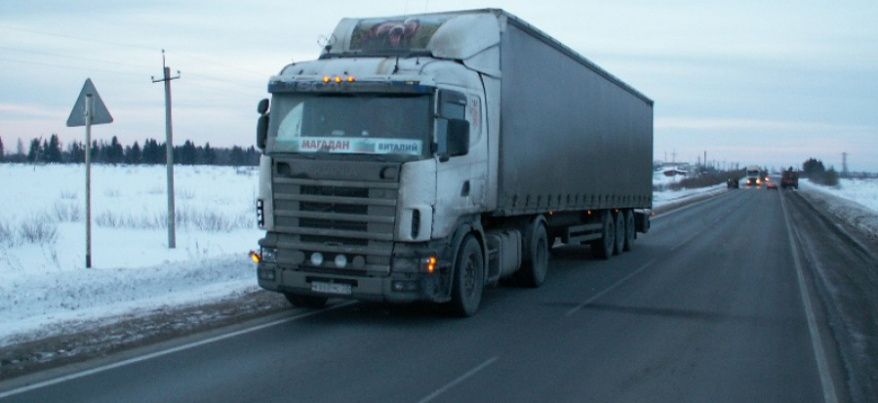 В жаркую погоду фуры не смогут ездить по дорогам Удмуртии