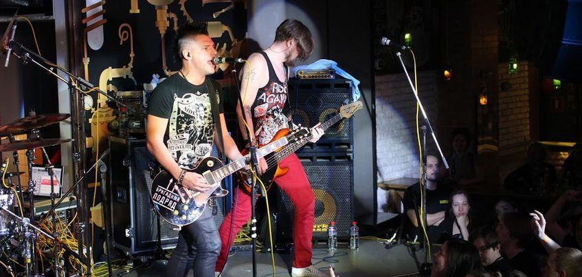 Панк-группа «Бригадный подряд» презентовала в Ижевске альбом «Новый сезон»