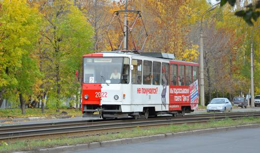 В Ижевске временно перенесут трамвайную остановку «улица Карла Либкнехта»
