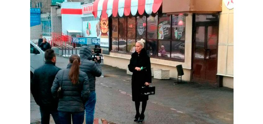 Владелец ижевской гостиницы попытался разоблачить Елену Летучую на съемках «Ревизорро-шоу»